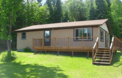 Tamarack Lodge: Lake Home Rental on Crane Lake